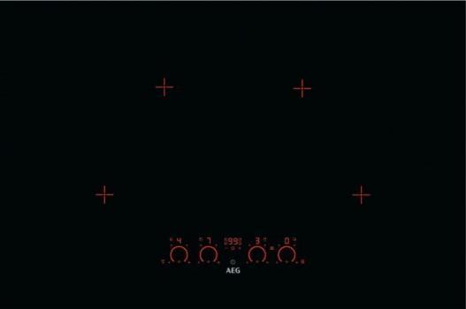 Варочная поверхность AEG IPK 94530 LB черный