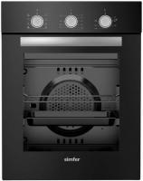 Духовой шкаф Simfer B 4ES 18011 черный