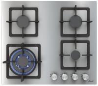 Варочная поверхность Fornelli PGT 60 CALORE IX нержавеющая сталь