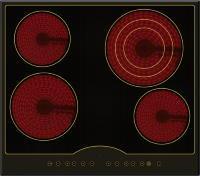Варочная поверхность Ilvito EHF 1970 ANT черный
