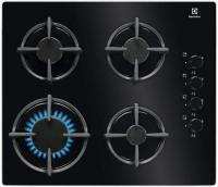 Варочная поверхность Electrolux GPE 264 EK черный