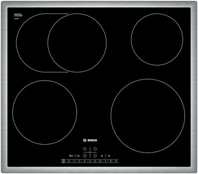 Варочная поверхность Bosch PKB 645 F17E черный