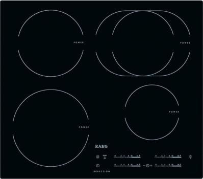 Варочная поверхность AEG HK 6542H1 IB черный