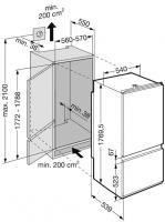 Встраиваемый холодильник Liebherr ICS 3113