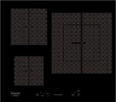 Варочная поверхность Hotpoint-Ariston KIS 630 черный