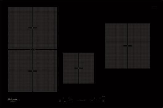 Варочная поверхность Hotpoint-Ariston KIS 841 черный
