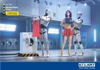 Стиральная машина Atlant CMA 45Y124 белый