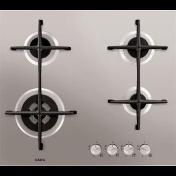 Варочная поверхность AEG HG 5654421 U нержавеющая  сталь